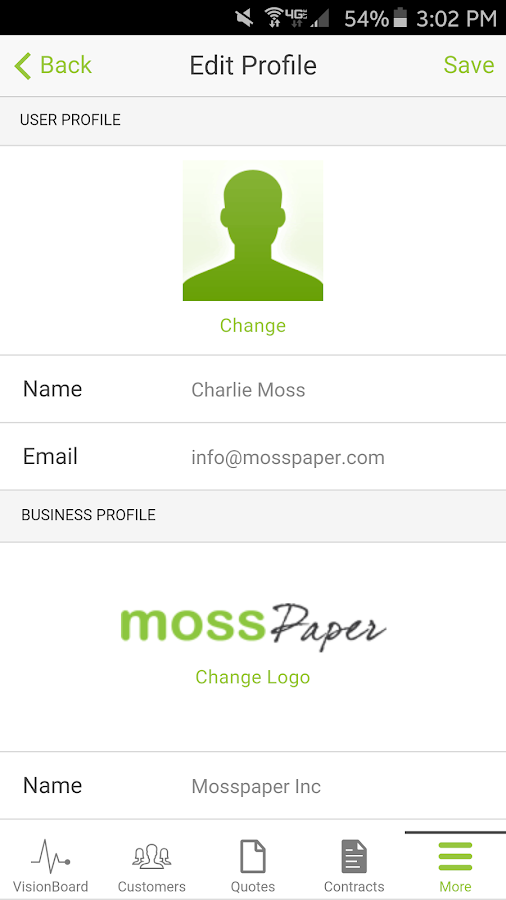Mosspaper Mobile- screenshot