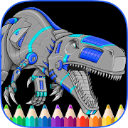 Angry Dinos Kid Coloring Pages APK for Ubuntu