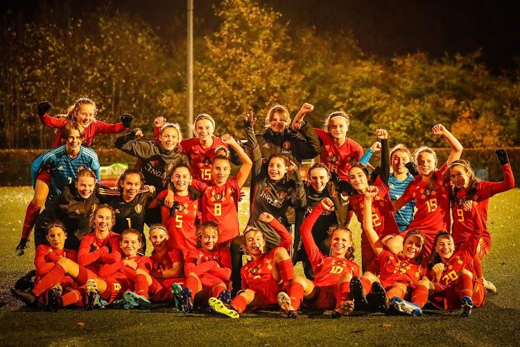 Les Red Flames U15 se jouent d'une équipe belge