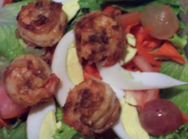 Garlic Shrimp Salad Recipe