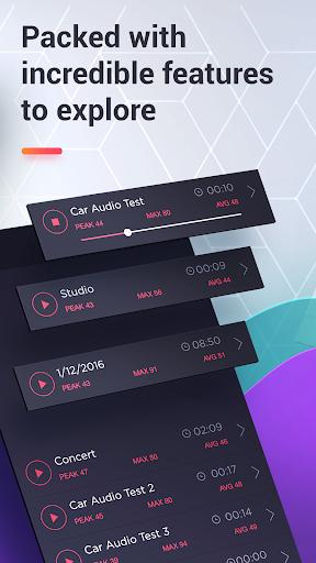 dB Meter - measure sound & noise level in Decibel  screenshots 3