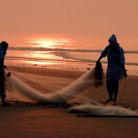 SUNRISE by Ajit Kumar Majhi - Landscapes Sunsets & Sunrises (  )