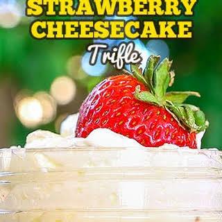 Strawberry Cheesecake Trifle.