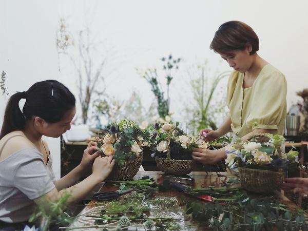 花藝教室-台北大稻埕-paurorapin