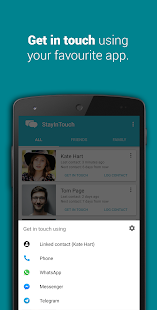Smart Contact Reminder: Call, messages- screenshot thumbnail