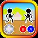 格闘ゲーム「木拳」:棒人間オンライン対戦の暇つぶしゲーム