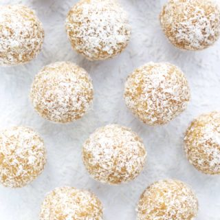 Low Carb Coconut Snowball Cookies Recipe