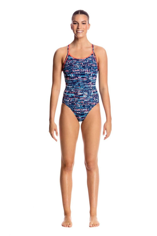 Funkita Ladies Diamond Back One Piece Lotsa Dots - FS11L01746