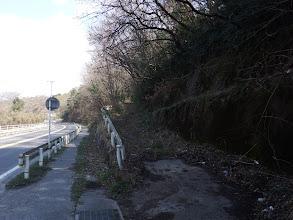 当初予定の下山林道