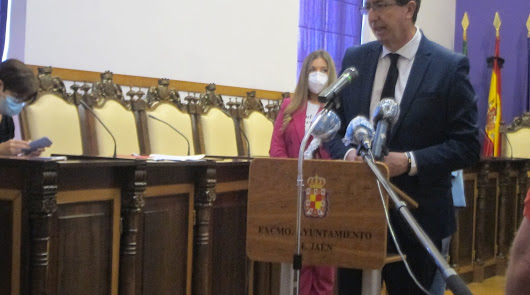 Marín espera que toda Andalucía pase a fase 3 el 8 de junio
