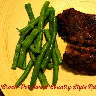 Crock-Pot Sweet Country Style Ribs.