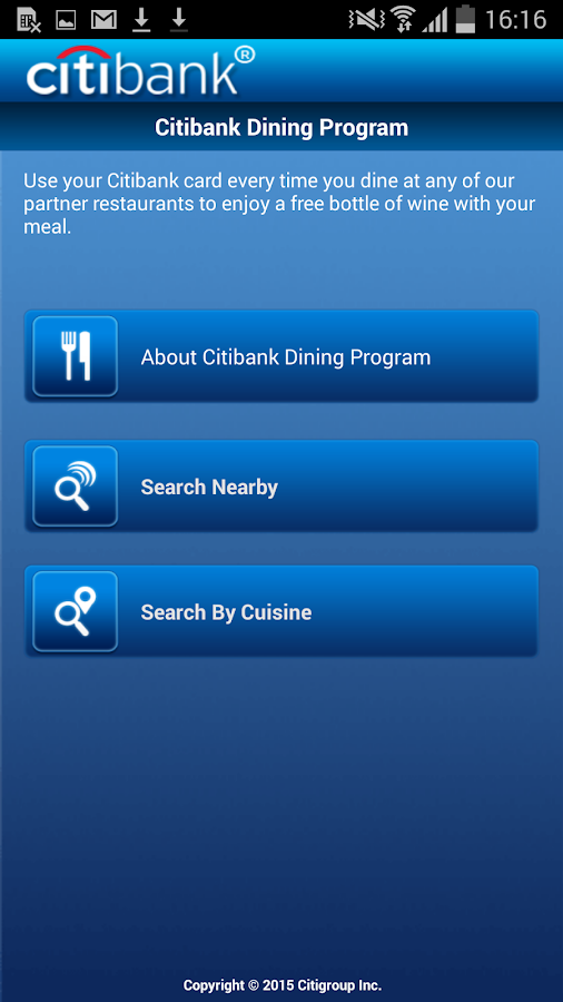 Citibank Australia- screenshot