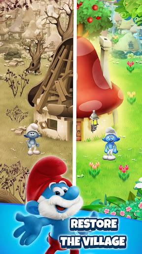 Smurfs Bubble Shooter Story apkdebit screenshots 4