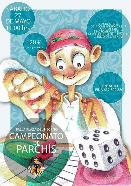 Campeonato Solidario de parchís de Plaza del Negrito