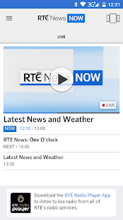 RTÉ News Now- screenshot thumbnail