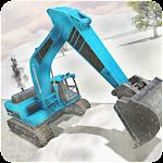 Heavy Snow Excavator Simulator Icon