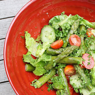 Asparagus Tomato Lettuce Salad Recipes