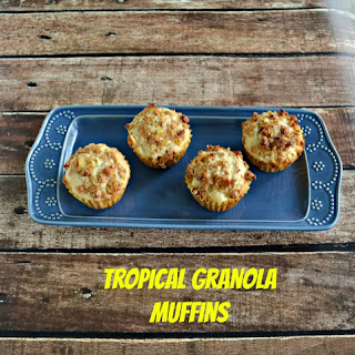 Tropical Granola Muffins