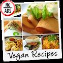 Vegan Recipes No-Ads icon