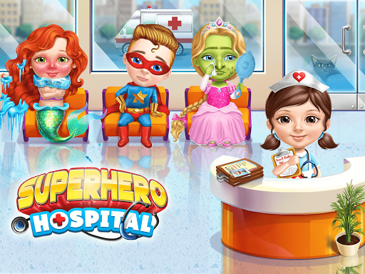 Superhero Hospital Doctor - Crazy Kids Care Clinic 3.0.4 screenshots 9