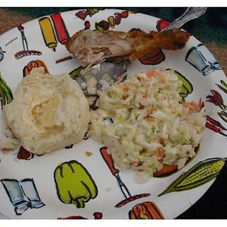 Kentucky Fried Chicken Coleslaw.