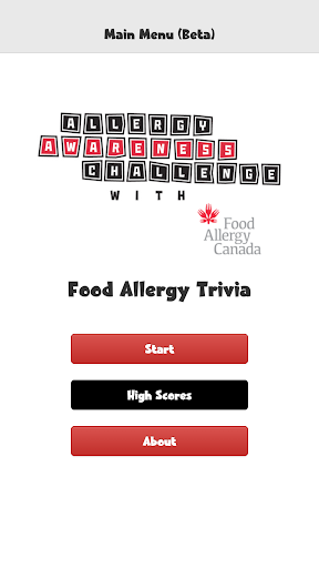 Food Allergy Trivia Beta