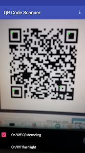 QR Scanner Volný - náhled