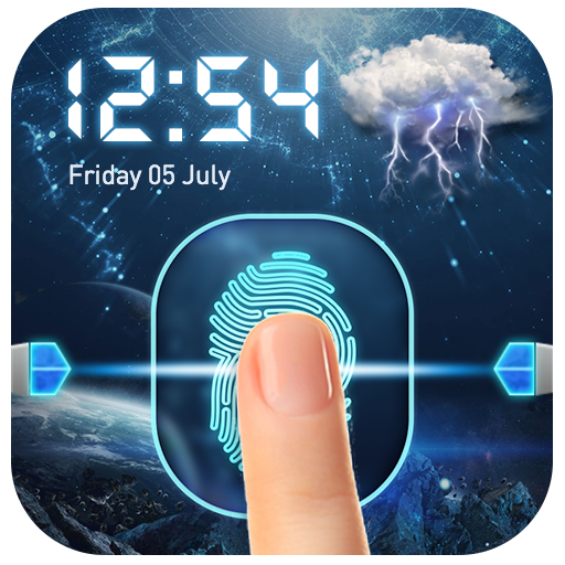 Lockscreen Fingerprint Prank