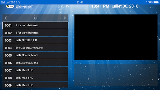 Ola IPTV 4.6 screenshots 4