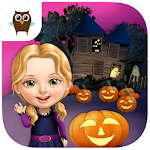 Sweet Baby Girl Halloween Fun Icon
