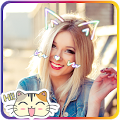 Cat Face Camera Style Pro 2017