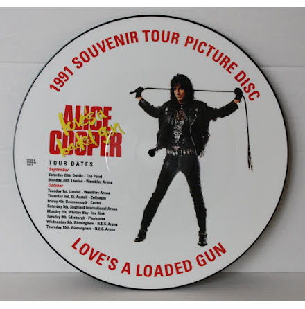 Alice Cooper - Love´s A Loaded Gun - Picture Disc