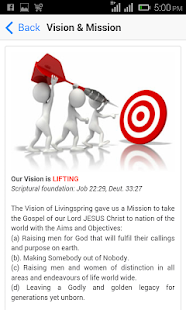 Livingspring Mobile- screenshot thumbnail