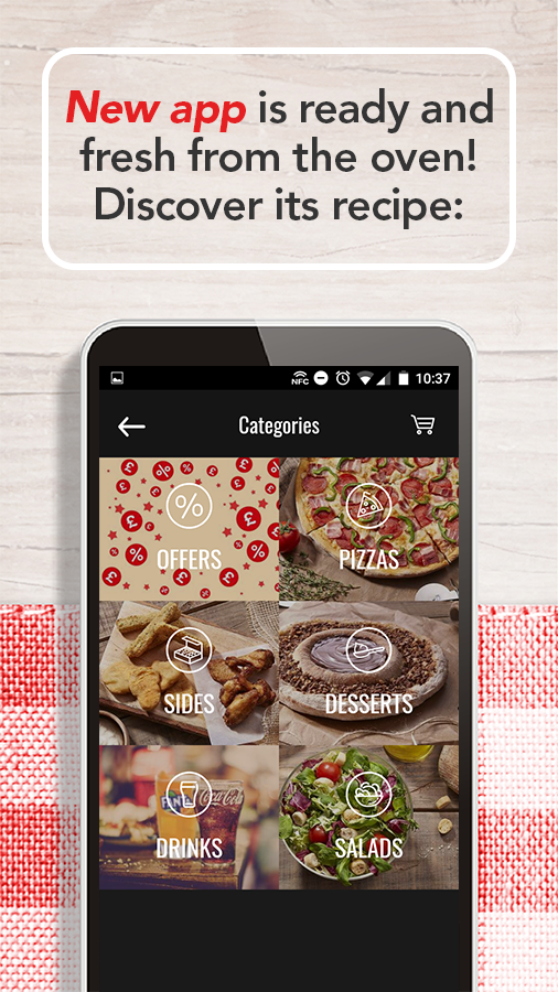 Telepizza Food and pizza delivery- screenshot