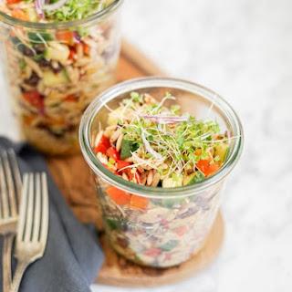 Orzo Pasta Salad Lunch   Vegan or Vegetarian Recipe