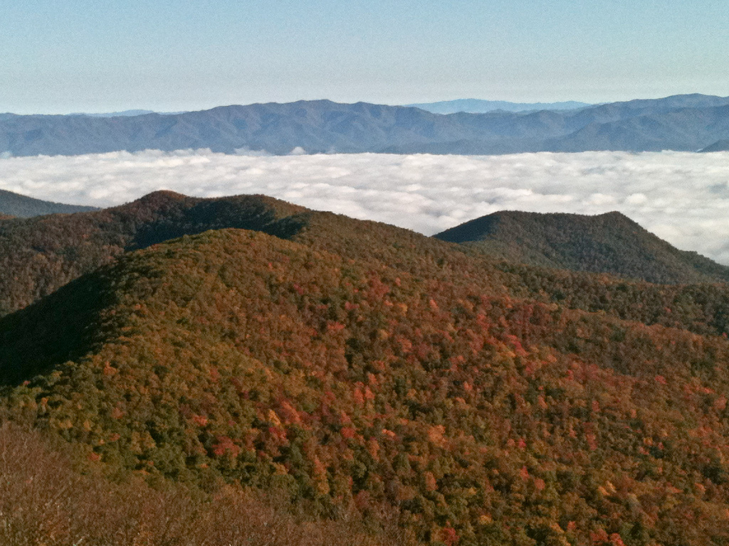 Visit at Brasstown Bald, The highest mountain in Georgia
