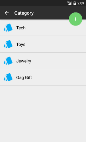 android Gift List Screenshot 3