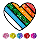 Glitter Heart Love Coloring Book for Girls APK