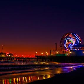 Santa Monica by Andy Nguyen - Landscapes Travel