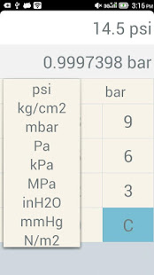 Psi Bar Conversion Table Choice Image Decoration Ideas