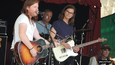 Photo: The Wooden Sky at the Calgary Folk Music Festival 2015