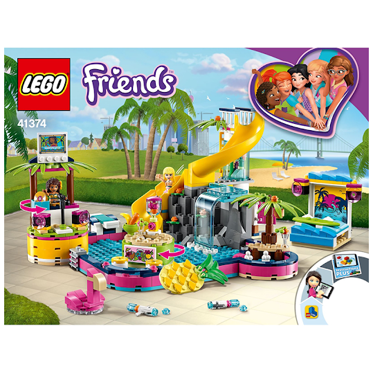 LEGO Friends 41374 Andrea ' s Poolparty