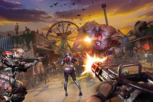 Code Triche Zombie : DEAD WARFARE mod apk screenshots 4
