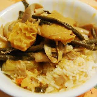 Kare-Kare (Oxtail and Tripe Peanut Stew.).