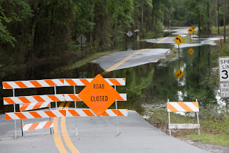 Photo: Good thing no one one was staying at Suwannee Valley