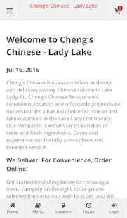 Cheng's Chinese - Lady Lake- screenshot thumbnail