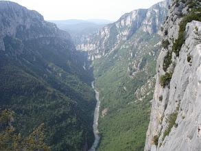 Photo: Verdon River from Belvedere de la Carelle