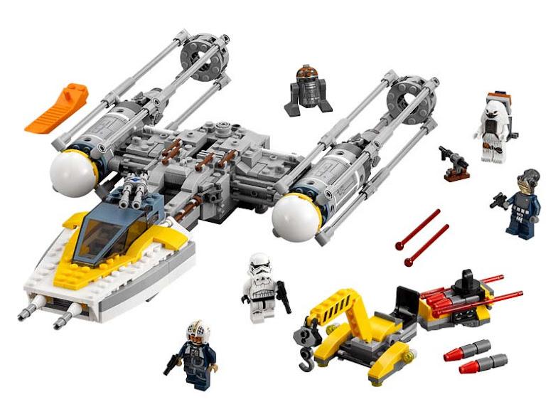 Contenido de Lego® 75172 Y-Wing Starfighter™
