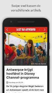 gva.be mobile screenshot 1