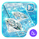 Download Blue Diamond Azure Bling Shine Launcher Theme For PC Windows and Mac